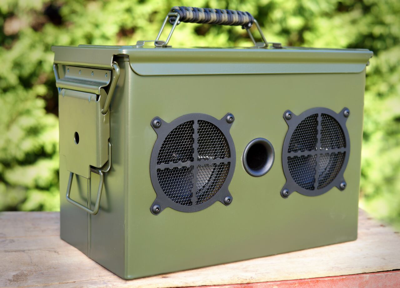 Ammo Can Bluetooth Speaker