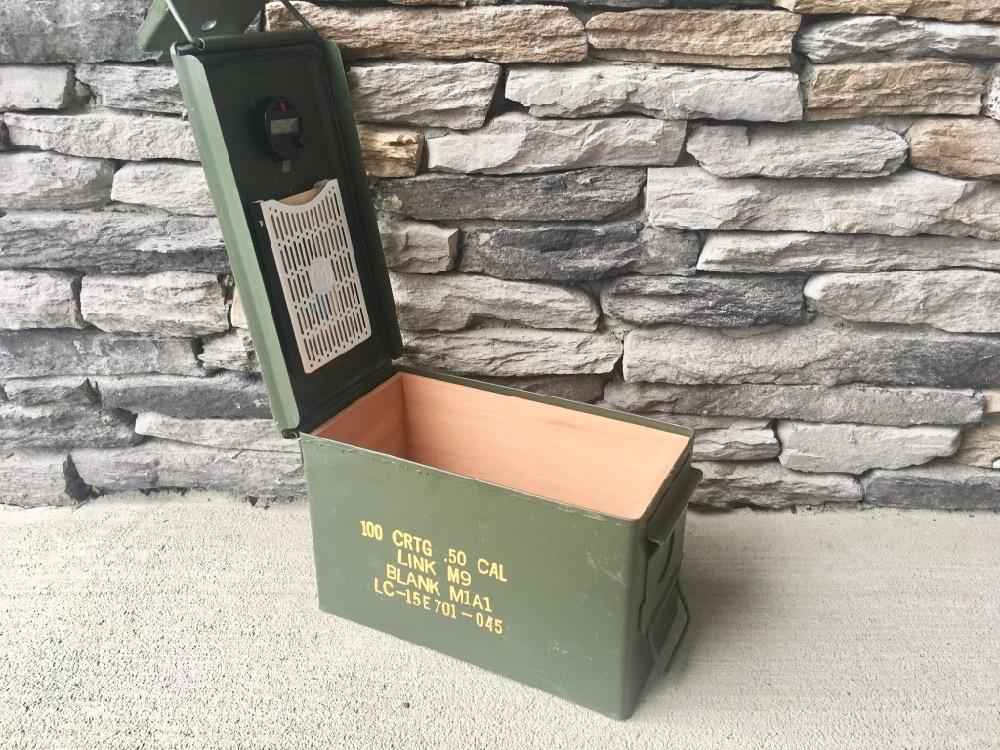 Ammodor Tactical Humidors   Ammo Can Cigar Humidors   The 50