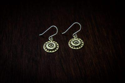 AE2 - bullet earrings
