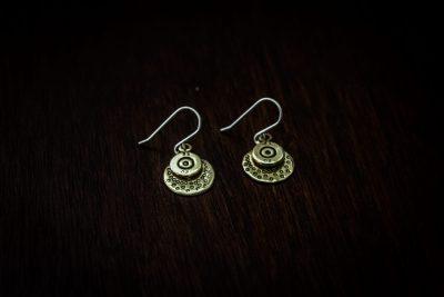 AEB1 - bullet earrings