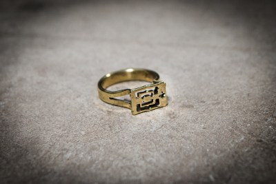 TR7 - Brass Angkor Wat claw set