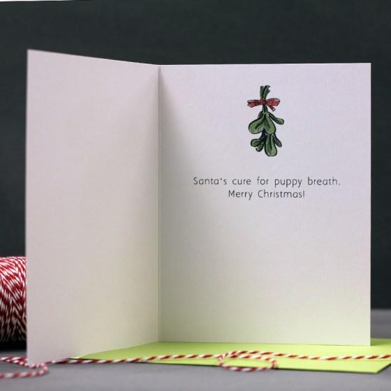 Flying Hero Etsy Shop // Dachshund Christmas Cards