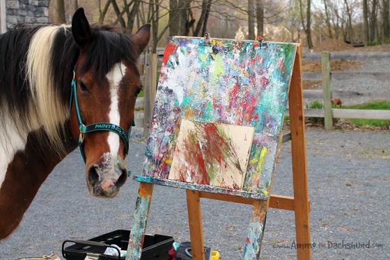 Painting Pony // Ammo the Dachshund