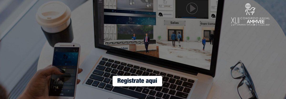 congreso virtual ammvee - banner registro