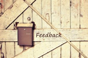 Affiliate marketing feedback