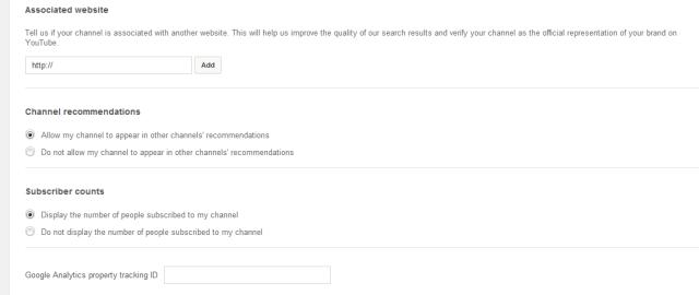 ربط يوتيوب مع موقعك