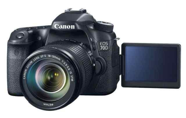 Canon-70D أفضل 3 كاميرات Canon للربح من يوتيوب