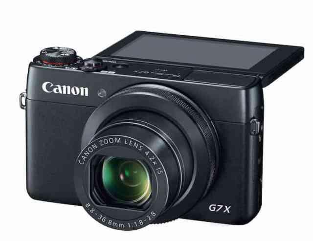 Canon-PowerShot-G7-X أفضل 3 كاميرات Canon للربح من يوتيوب