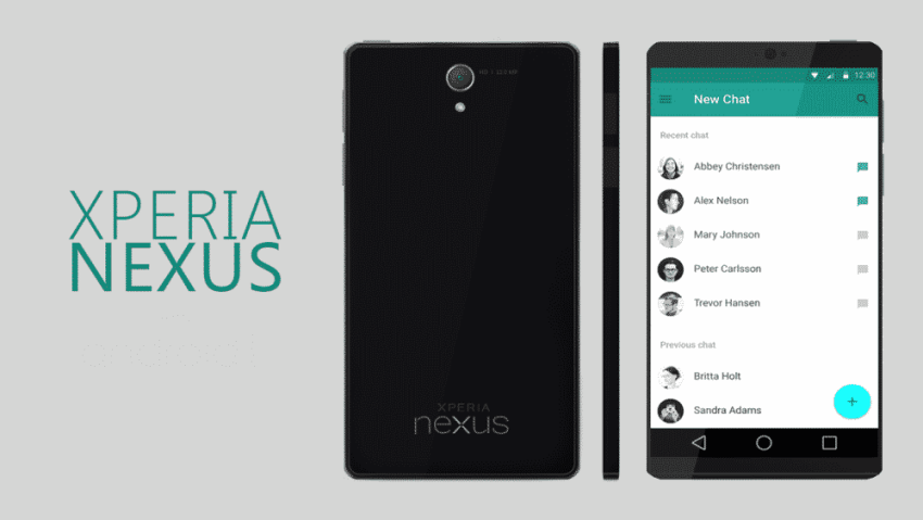 xperia-nexus-android-L آن الأوان لنرى هواتف Xperia Nexus من سوني موبايل!