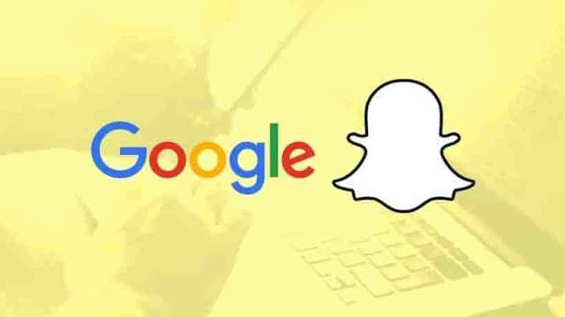 Google-invests-in-Snapchat نظرة على العلاقة السرية لشركة جوجل و سناب شات