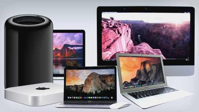 mac-family-2016 بداية نهاية حواسيب آبل و ماك بوك والهجرة إلى مايكروسوفت سيرفس!