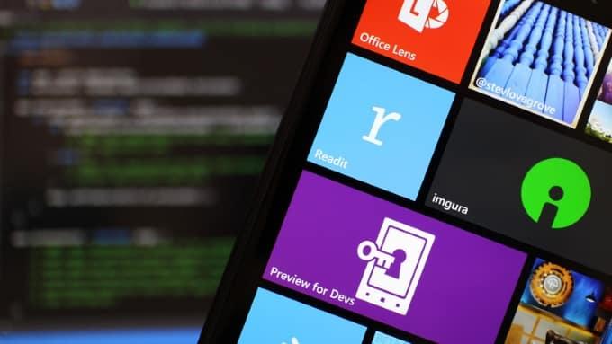 windows-phone-8.1 أزمة مايكروسوفت في قطاع الموبايل وانهيار العائدات