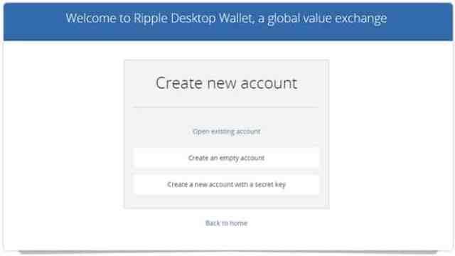 ripple-3 برنامج محفظة عملة الريبل XRP لحواسيب ويندوز/ الماك / لينكس