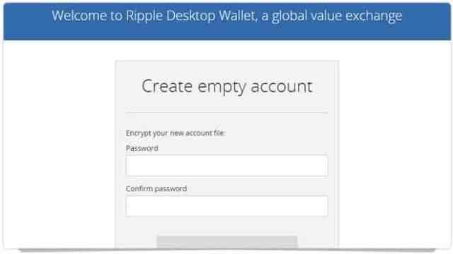 ripple-4 برنامج محفظة عملة الريبل XRP لحواسيب ويندوز/ الماك / لينكس