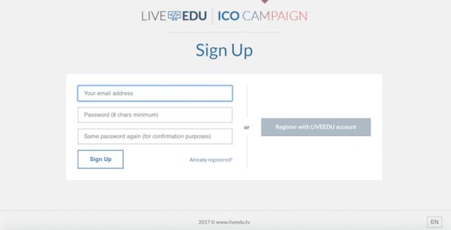 LiveEdu-ICO-2 فرصة استثمار: ابتداء من 0.10 دولار استثمر في موقع LiveEdu يوتيوب التعليمي المتطور