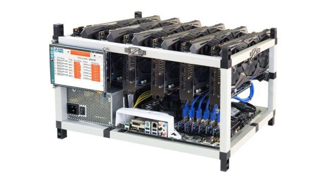 mining-rig أفضل أجهزة تعدين بيتكوين و الإيثريوم وربح مئات الدولارات من العملات المشفرة