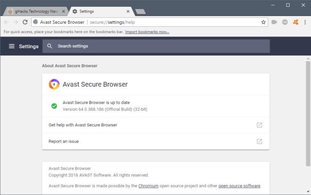 avast-secure-browser 5 أسباب تدفعك لاستخدام Avast Secure Browser بديلا لمتصفح جوجل كروم