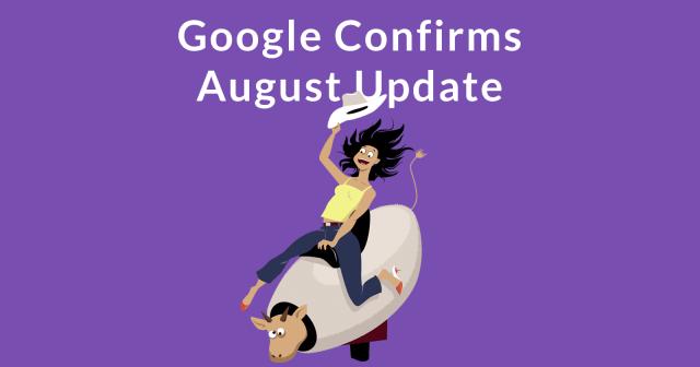 google-algo-update كل شيء عن تحديث خوارزمية بحث جوجل أغسطس 2018