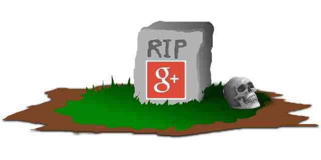 googleplus-tombstone إغلاق جوجل بلس شيء متوقع لكن بطريقة غير متوقعة