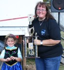 Jean Combs won the Peoples Choice award at the Junction City Chili Cook-Off.