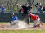Jeremy Schneider/jeremy.schneider@amnews.com Danville's Dmauriae VanCleave slides home safely to score the first run of Wednesday's game against Lincoln County.