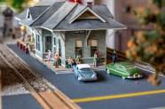 Ben Kleppinger/ben.kleppinger@amnews.com A diorama inside Coldwell Banker features a depot station in New Hope, Kentucky.