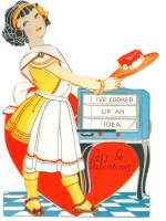 Images contributed The Valentine collection was owned by Zella Harris DuBois. It was donated by Kathy Wachter in 2018. DuBois was a teacher in Michigan and many of the valentines are from her students.