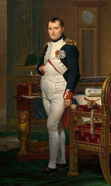 El emperador Napoleón en su estudio en el Tuileries. Via Wikimedia Commons / Galería Nacional de Arte