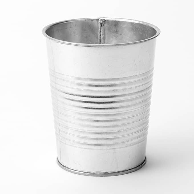 stainless steel kitchen trash cans crosley cabinets galvanized soup - fgs337 | american metalcraft
