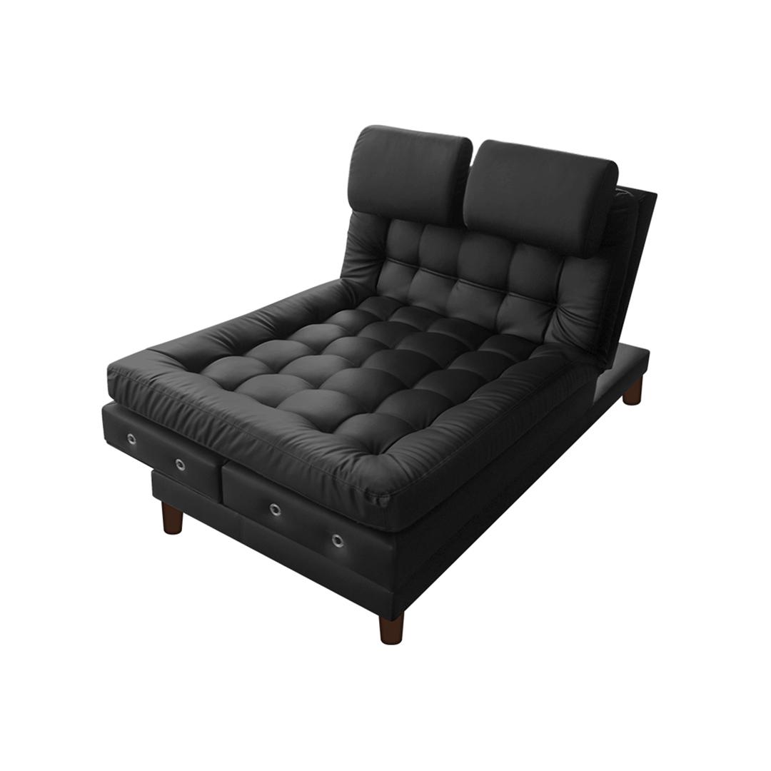 sofa cama plegable multifuncional olivia set sofá euro con brazos cuero sintético