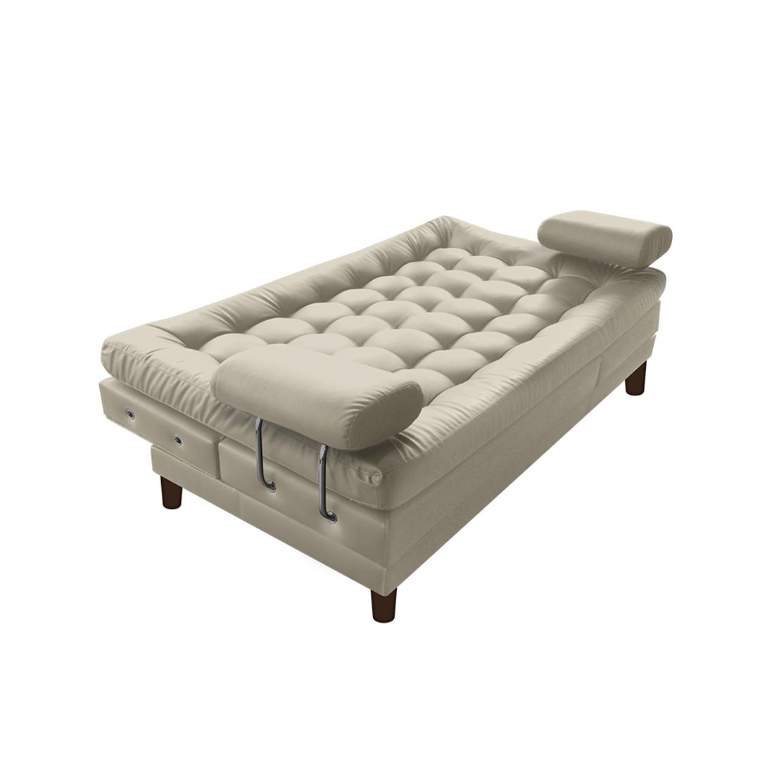 sofa cama plegable multifuncional comfy sleeper sofá euro con brazos cuero sintético