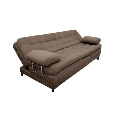 Sofa Cama Plegable Multifuncional Outdoor Wicker Set Sofá Euro Con Brazos Microfibra