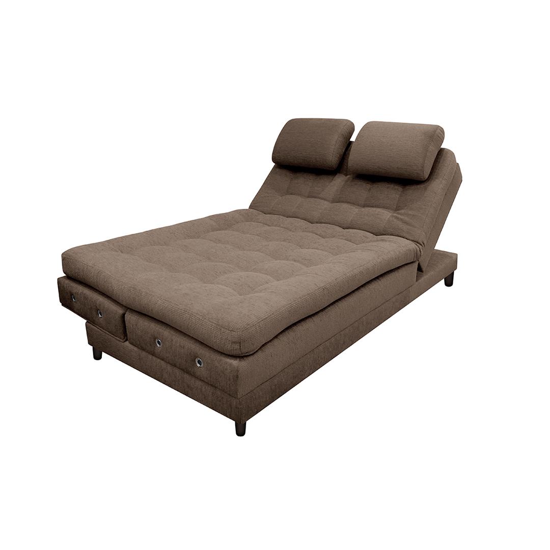 sofa cama plegable multifuncional mackenzie sofá euro con brazos microfibra