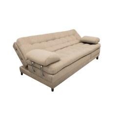 Sofa Cama Plegable Multifuncional Single Seater Bed Dubai Sofá Euro Con Brazos Microfibra