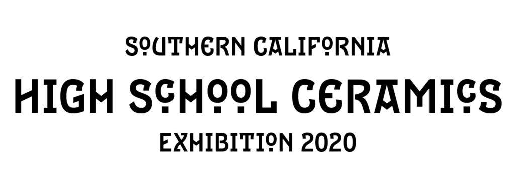 Southern California High School Ceramics Exhibition 2020 logo