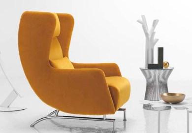 Modern White Arm Chairs