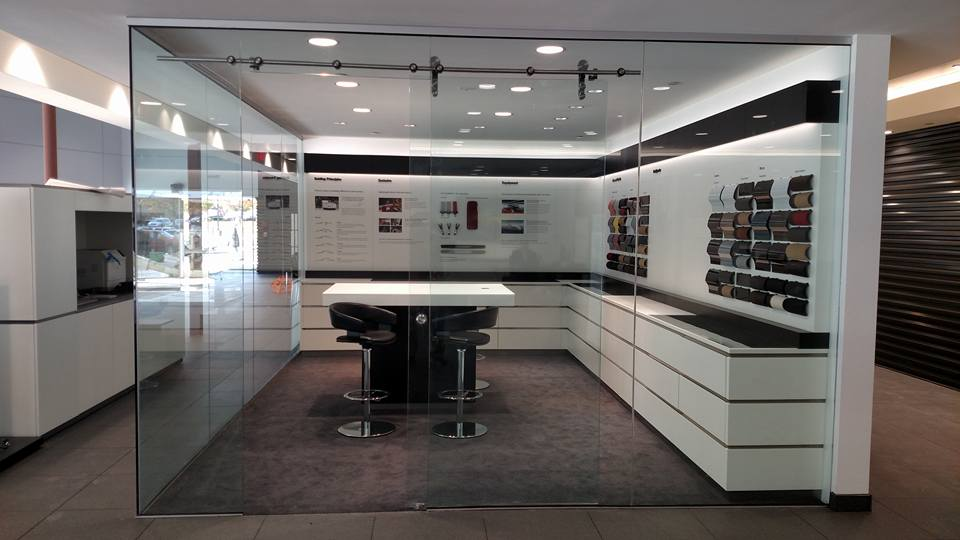 Commercial Glass Partitions  Custom Glass  Mirror