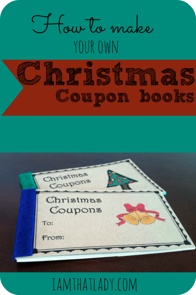 make a coupon book