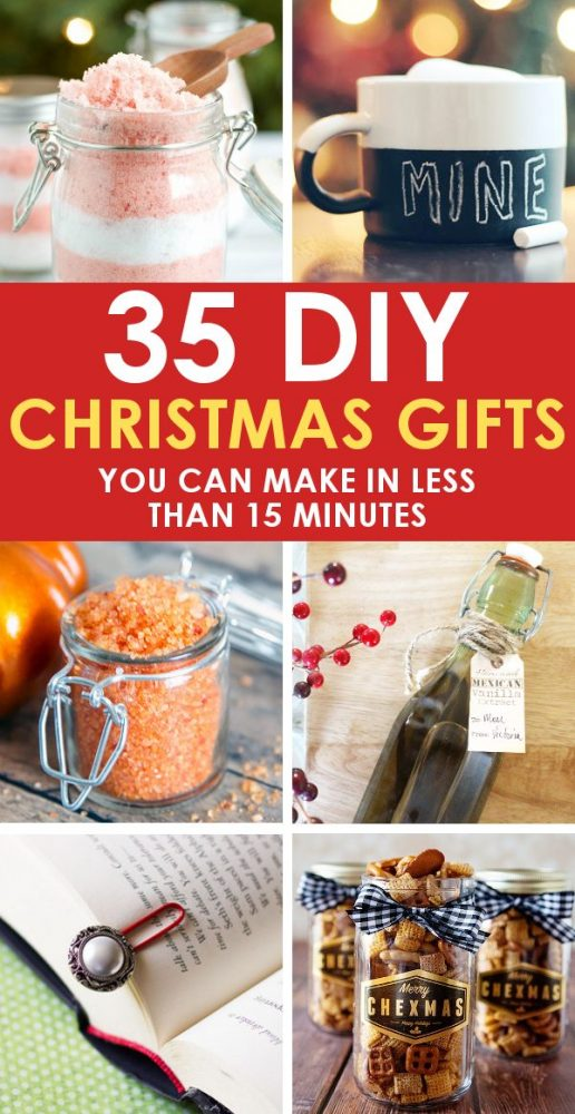 35 easy diy christmas