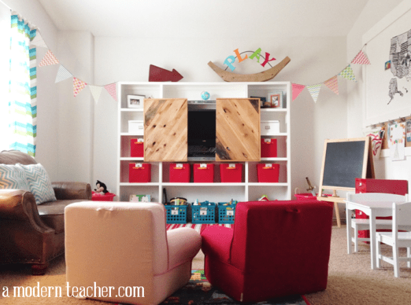 playroom www.amodernteacher.com