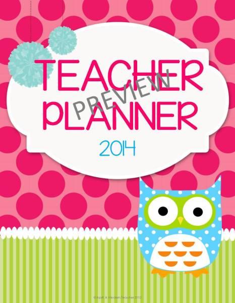 TEACHER PLANNER-OWL- AMODERNTEACHER.COM