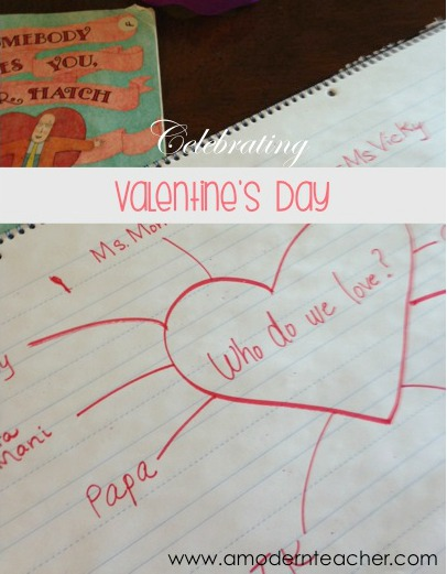 Sweet Children's Book for Valentine's Day www.amodernteacher.com