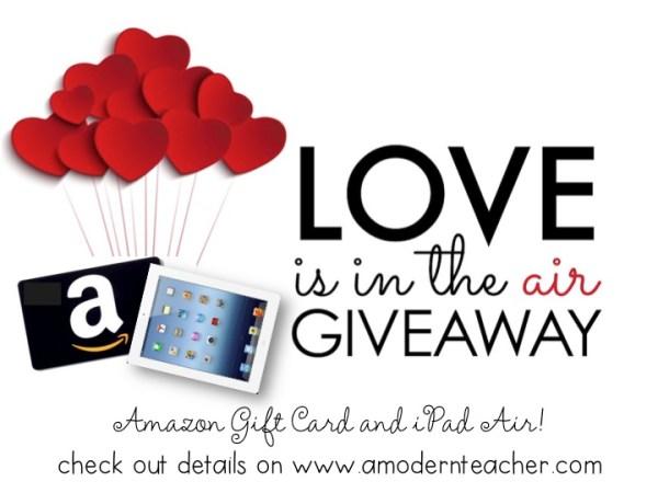 iPad giveaway www.amodernteacher.com