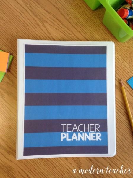 a modern teacher planner varsity prep