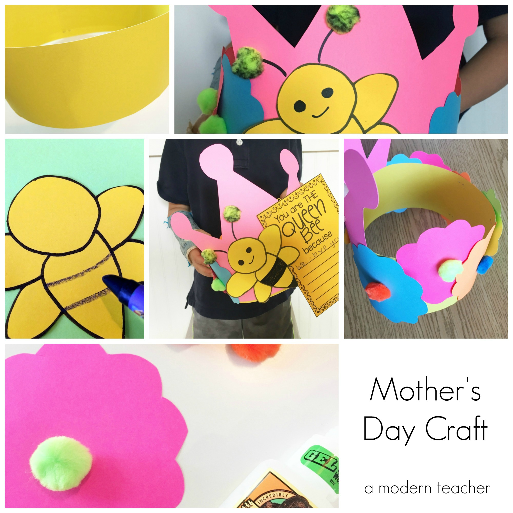 Mother's Day Craft  :: She is THE Queen Bee
