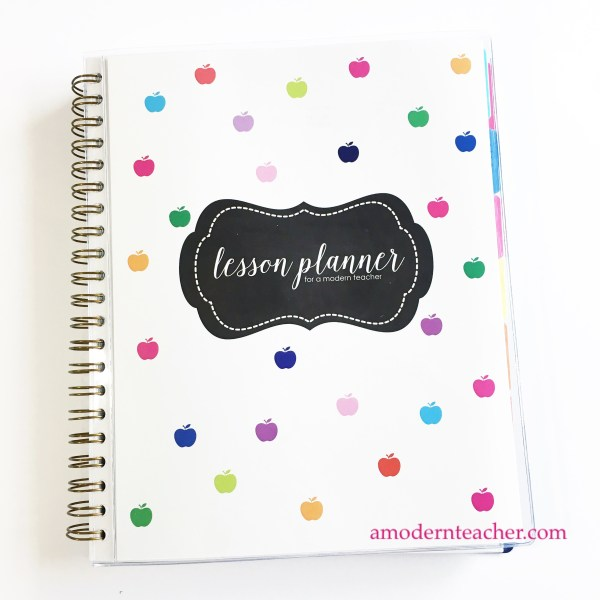 Teacher Lesson Planner for A Modern Teacher