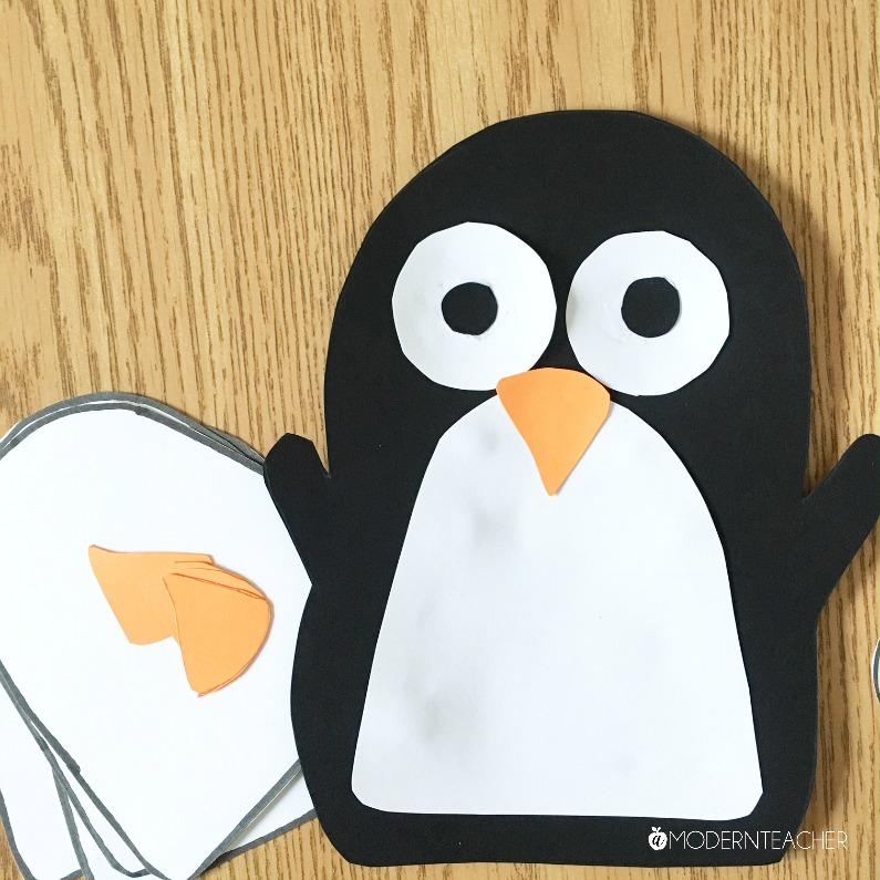 Easy Penguin Craft