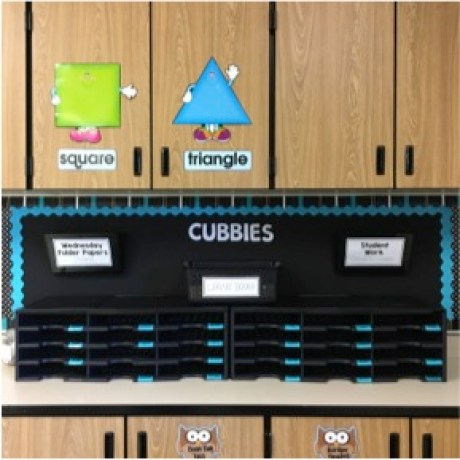 organizing the classroom