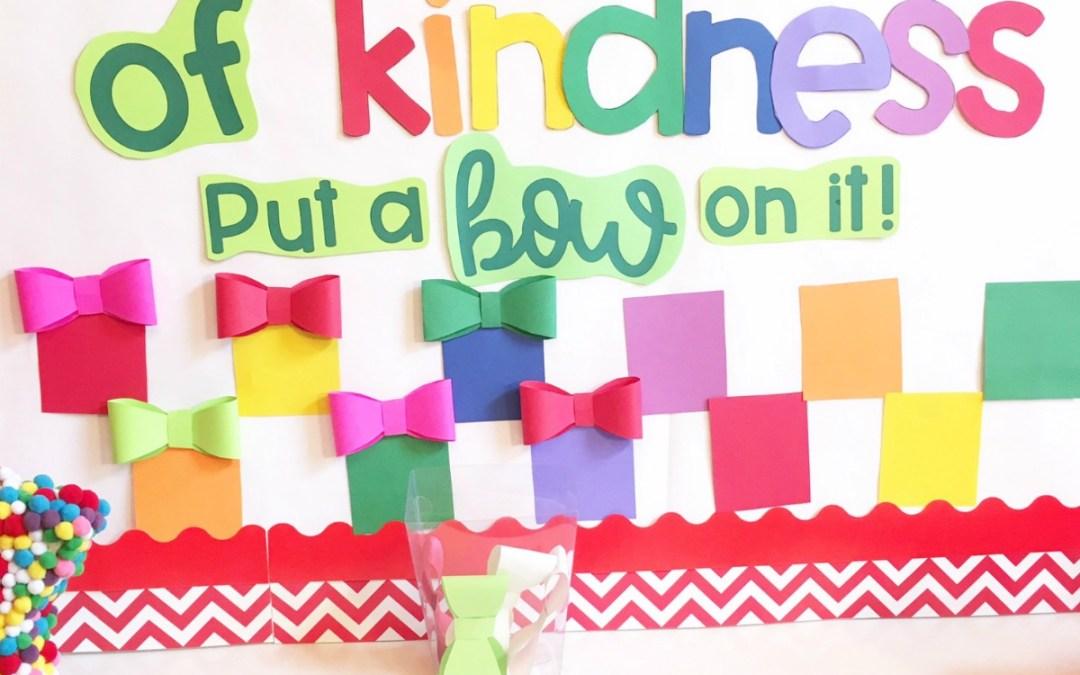 Kindness Bulletin Board for December (Freebie)