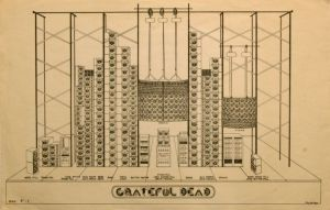 Grateful Dead  Schematic Prints for Wall of Sound (Poster)  Amoeba Music